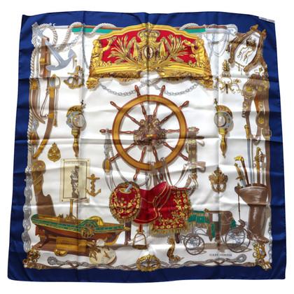 """Hermès Zijden sjaal """"Musée"""""""