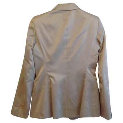 Hugo Boss Satin Blazer in cream