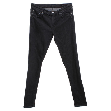 All Saints Dunkelgraue Jeans
