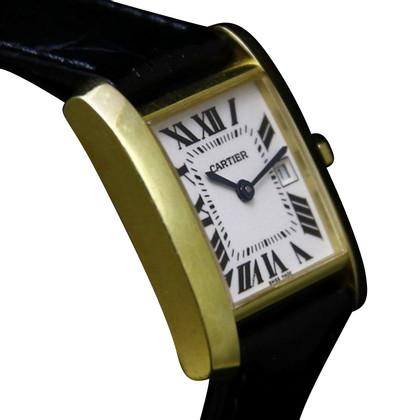 "Cartier Clock ""Tank Française"""