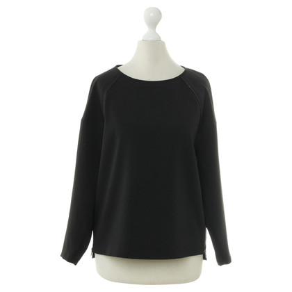 J Brand Black sweater with zipper