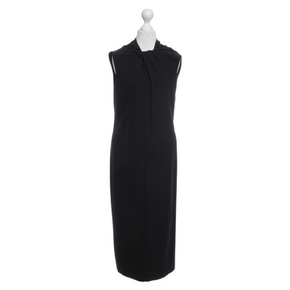 Jil Sander Silk dress in black
