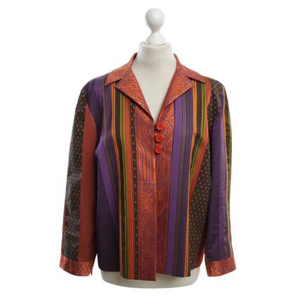 Etro Blazer met kleurrijke patronen