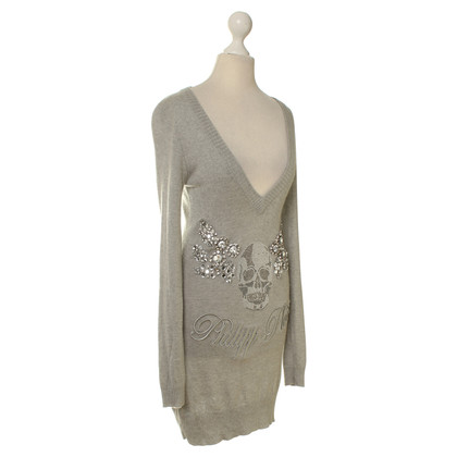 Philipp Plein Knit dress in grey