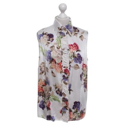 Escada Silk blouse with pattern