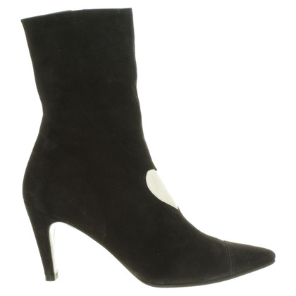 Other Designer Black Suede boot