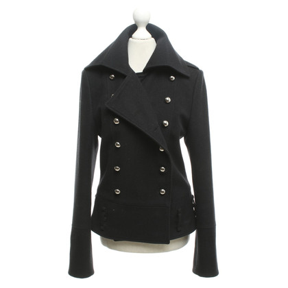 Dimitri Short coat in black