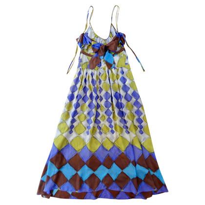 Marni Multi-colored silk dress