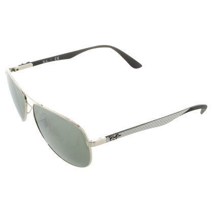 Ray Ban Occhiali da sole in Silver Grey