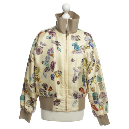 Hermès Bomber jacket with pattern