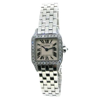 "Cartier Clock ""Santos Demoiselle 750 WG"""