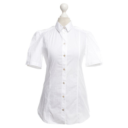 Burberry Short sleeve blouse in white