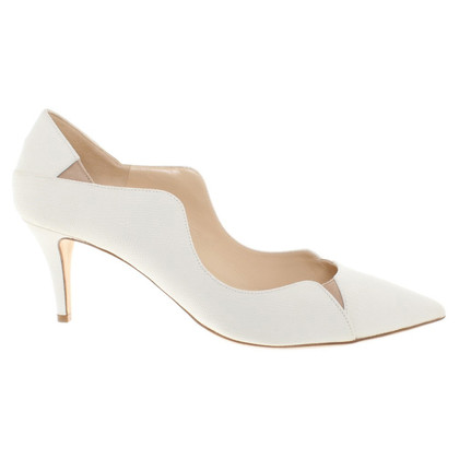 Jimmy Choo pumps in white