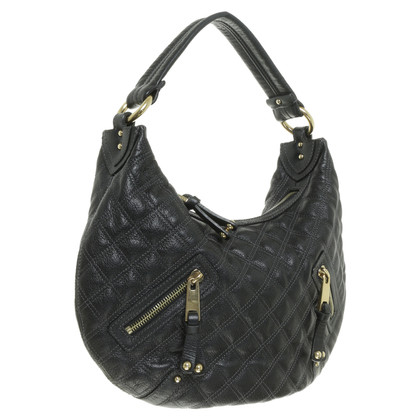 Marc Jacobs Black quilted shoulder bag