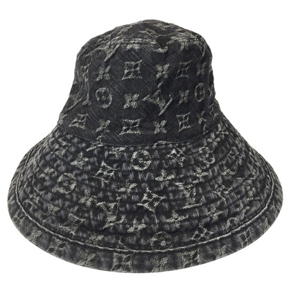 Louis Vuitton Hoed in Monogram Denim