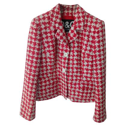 Dolce & Gabbana Houndstooth blazer pattern