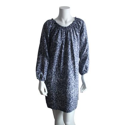 Michael Kors Off-Shoulder-Kleid aus Seide
