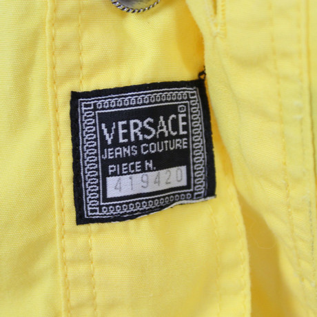 Versace Bluse Gianni Gelb Versace Bluse Gianni BCCx5wUq
