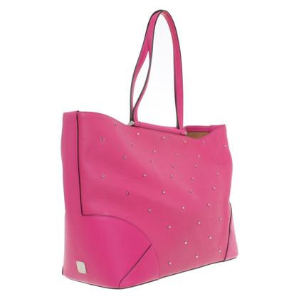 MCM Shopper in pink