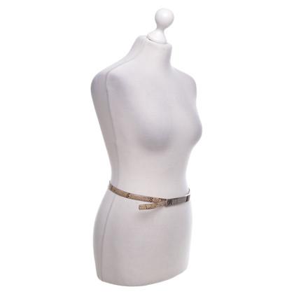 Andere Marke Trussardi - Gürtel aus Schlangenleder