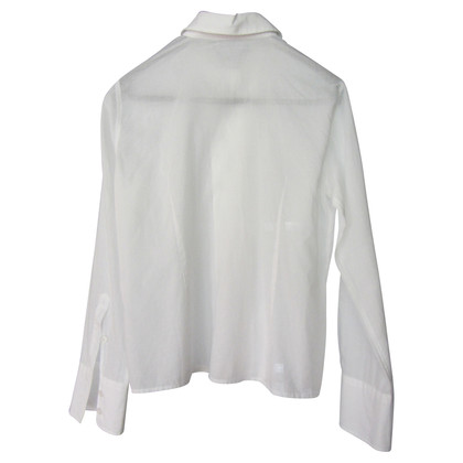 Armani Lange mouw ruffle blouse