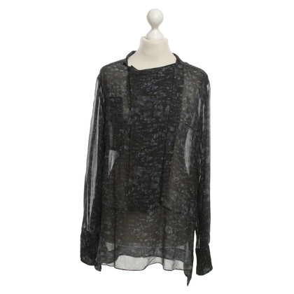 Isabel Marant Silk blouse with floral print