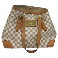 Louis Vuitton Handbag Damier Azur Canvas