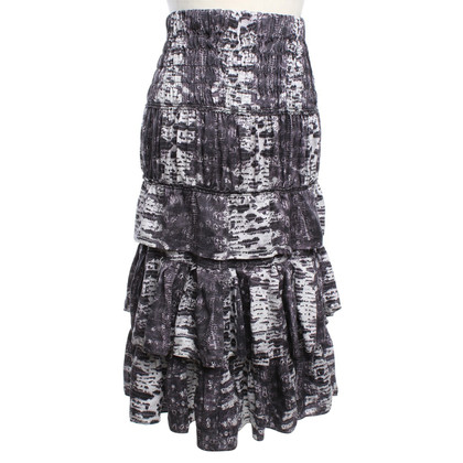 Isabel Marant for H&M Silk skirt in reptile look
