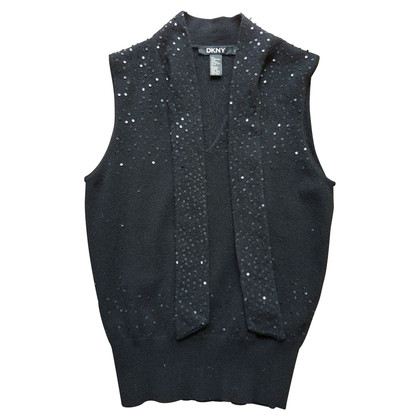 DKNY Knitting top with sequins