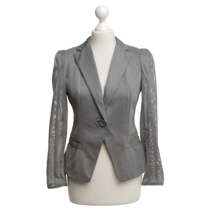 Schumacher Blazer with perforated fabric