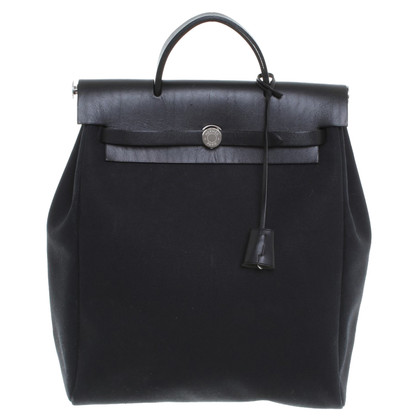 "Hermès ""Herbag"" in zwart"