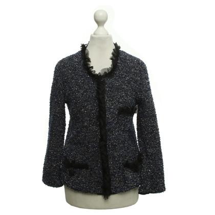 Dolce & Gabbana Tweed-Jacke mit Effektfaden