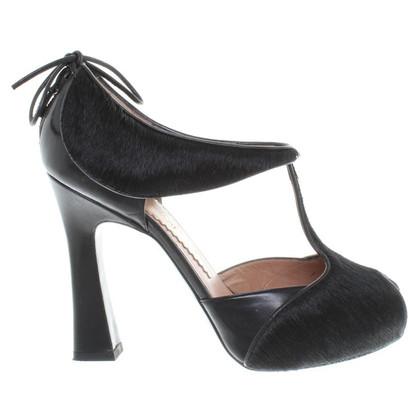 Armani Sandaletten in Schwarz