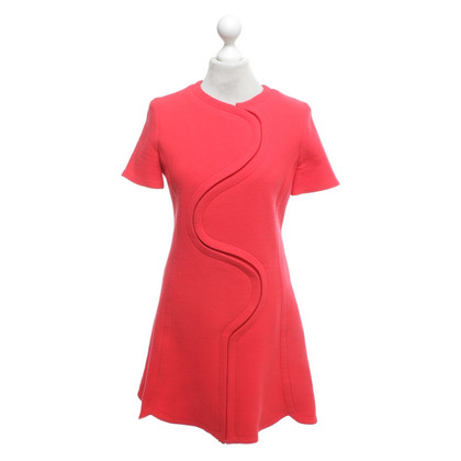 Christian Dior Silk dress in red