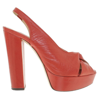 Erika Cavallini Sandali in rosso