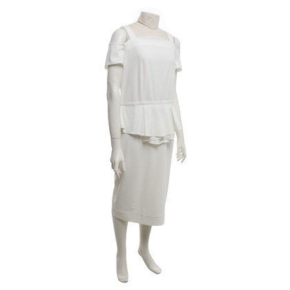 Other Designer Raoul - Dress in cream white