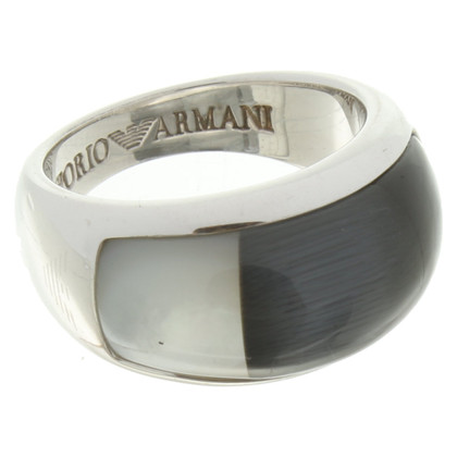 Armani Ring of silver