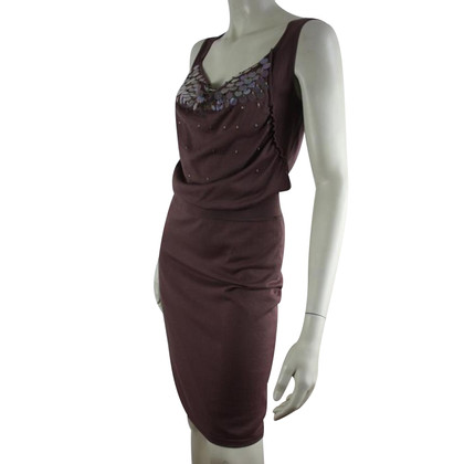 Escada Silk dress with pearl sequins