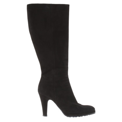 Marc Cain Black Suede boot