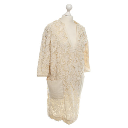Day Birger & Mikkelsen Spitzenkleid in Creme