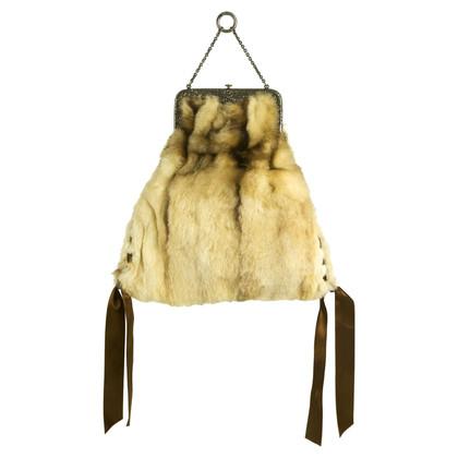 Valentino Handbag with fur
