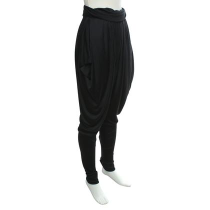 Alexander McQueen trousers in black