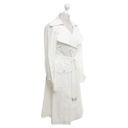 Laurèl Trenchcoat in het wit