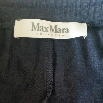 Max Mara Tuta in cotone petrolio