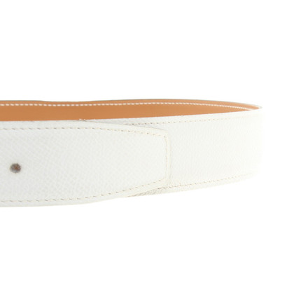 Hermès Belt band in het wit