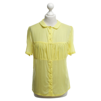 Wunderkind Blusa in giallo