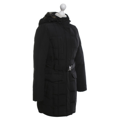 Woolrich Parka with rabbit fur trim
