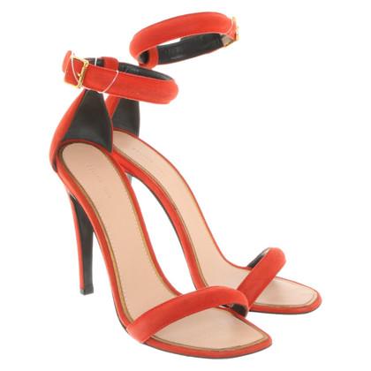 Céline Sandals in red