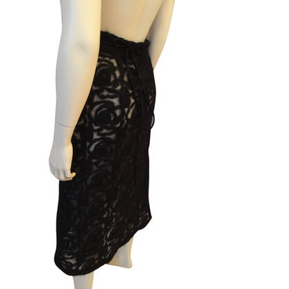 Max Mara Wikkel rok gemaakt van zijde