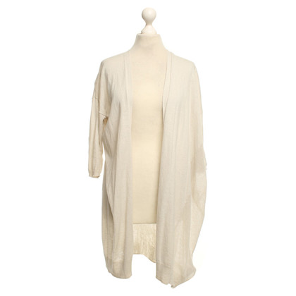 All Saints Strickjacke in Beige